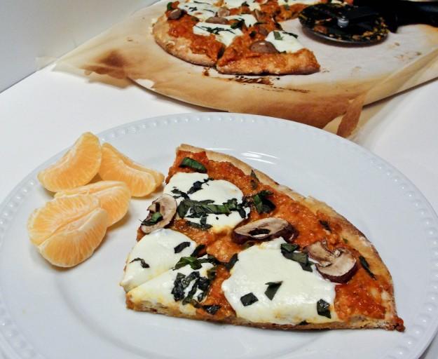 easy homemade healthy pizza