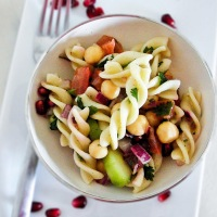 Indian Inspired Pasta Salad