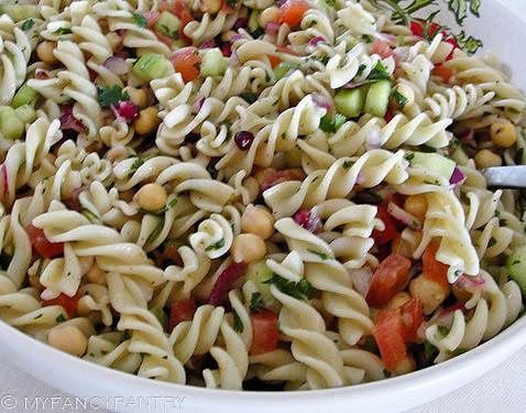 Pasta Salad Recipe Indian