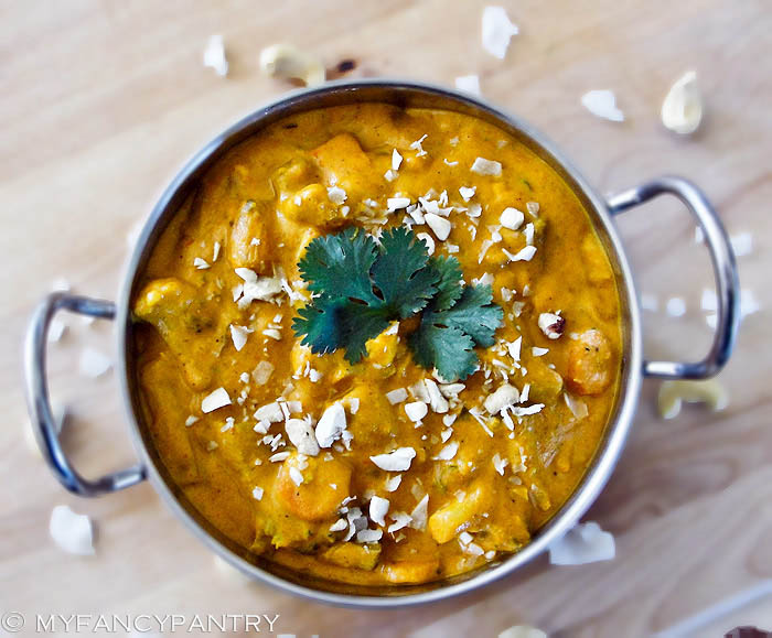 Vegetarian vegan navratan korma a sweet and mild indian curry this is an extremely easy curry to make i can finally say that and i hope youll be inspired to try it forumfinder Gallery