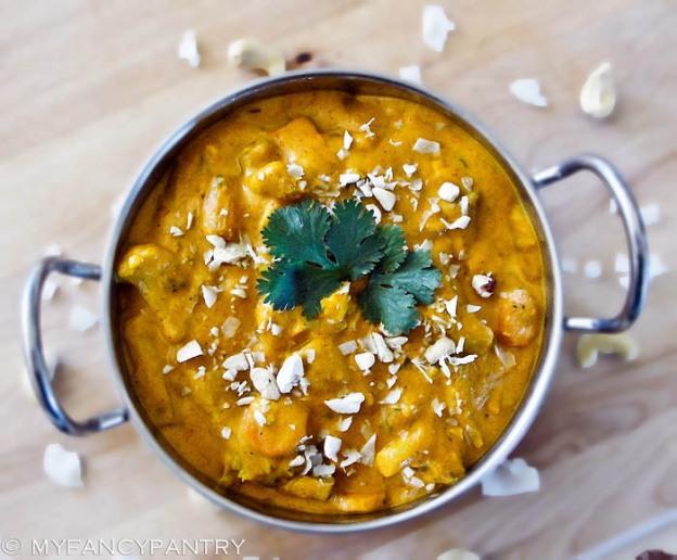 Vegetarian Navratan Korma