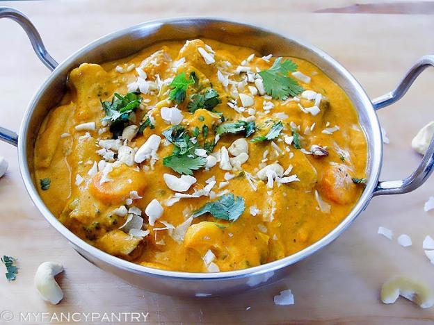 Navratan Korma, Korma recipe, korma curry recipe, navratan korma recipe, vegetarian korma
