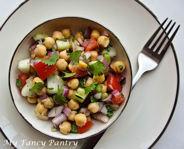 Bengali inspired raw vegetable salad my fancy pantry it forumfinder Images