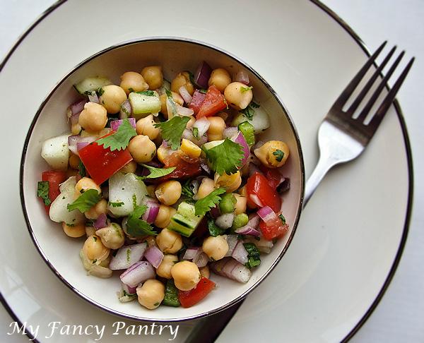 Bengali Raw Vegetable Salad