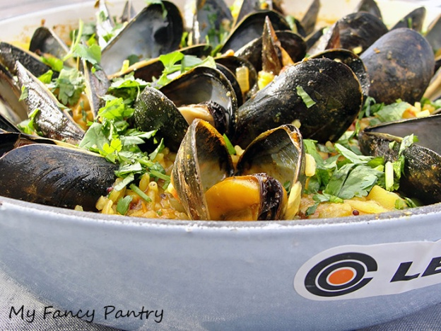 mussels and rice