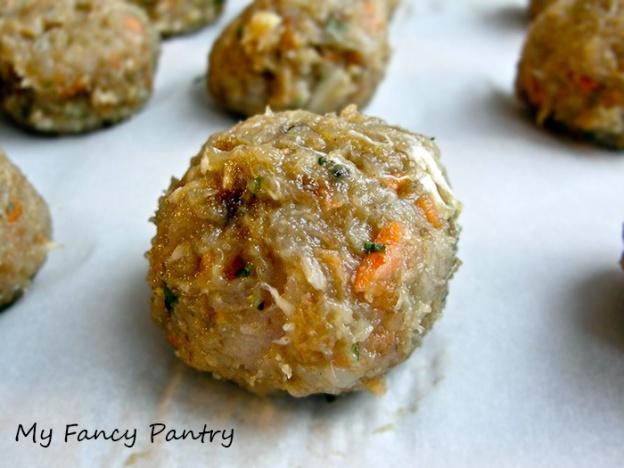 Asian Inspired Turkey Meatball
