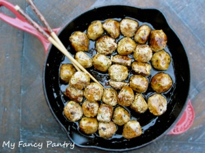 Asian Inspired Turkey Meatballs