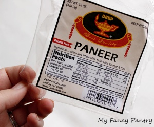 Frozen Paneer from Indian Grocer