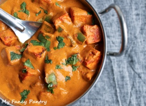 paneer tikka curry, paneer curry, indian paneer curry, paneer tikka masala, vegetarian curry