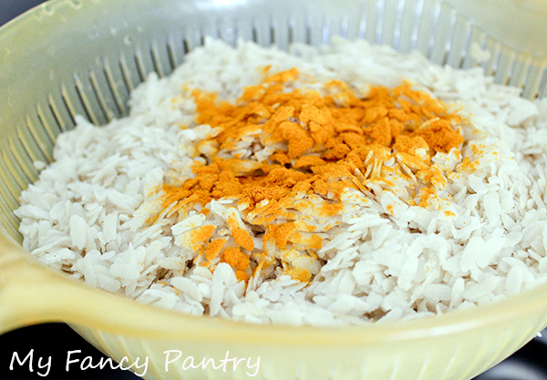 beaten rice flakes, poha