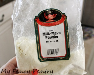 mawa powder: available at most Indian grocers.