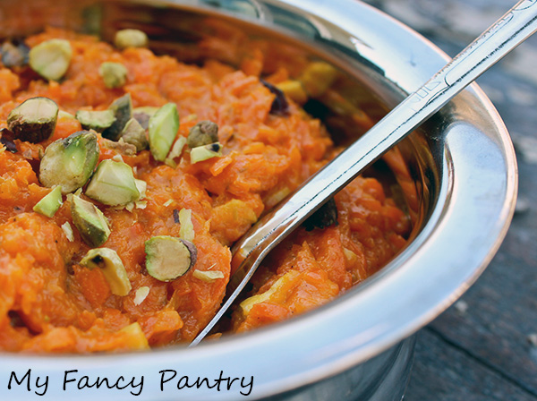 restaurant gajar halwa, halwa, gajar halwa, carrot halwa, carrot pudding, indian dessert, indian gajar halwa