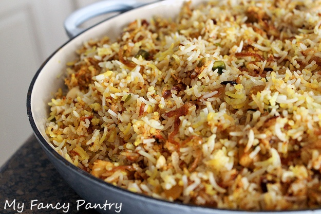 easy indian biryani, chicken biryani