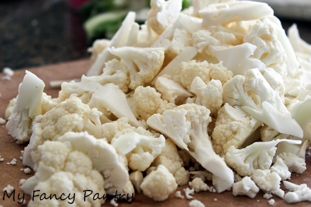 ... and Delicious Gobi Sabzi: Indian Spiced Cauliflower | My Fancy Pantry